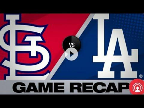ST LOUIS CARDINALS vs LOS ANGELES DODGERS HIGHLIGHTS | AUGUST 6, 2019 (MLB SEASON)
