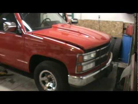 Custom Chevy Single Cab Subs - YouTube