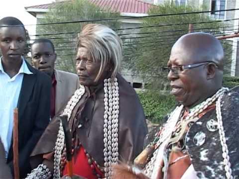 Kikuyu Council of Elders - Kikuyu Boys Initiation (Pt 1/5)