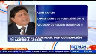 América Latina sacudida por la corrupción: estos son los principales exmandatarios