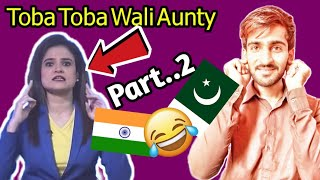 Indian Media Crying On Pakistan Toba Toba Pakistani Toba Toba Repy To Indian Media Girl Part 2