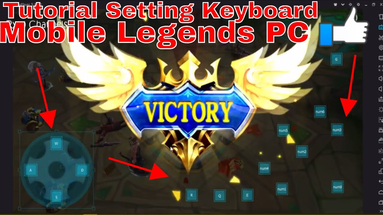 How to setting keyboard Mobile Legends PC Emulator Nox