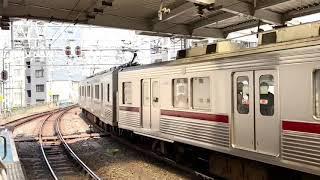 東武鉄道10000系11608F編成(南栗橋車両管区春日部支所)。