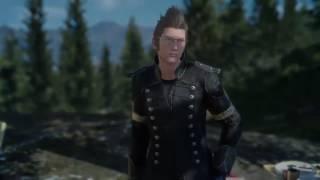 Final Fantasy XV - Beating Iris in the Chocobo Race