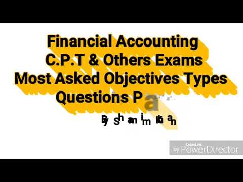 1| Accounting Multiple Choice Questions and Answers