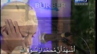 Syakir Daulay   Adzan Maghrib @ BUKBER Trans 7 23 Juli 2012   YouTube