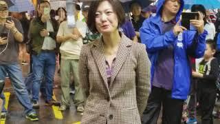 """旺角羅文171118-船歌+高山青~天后級小龍女&(太近身拍""""楊過""""+""""楊康"""")演唱"""