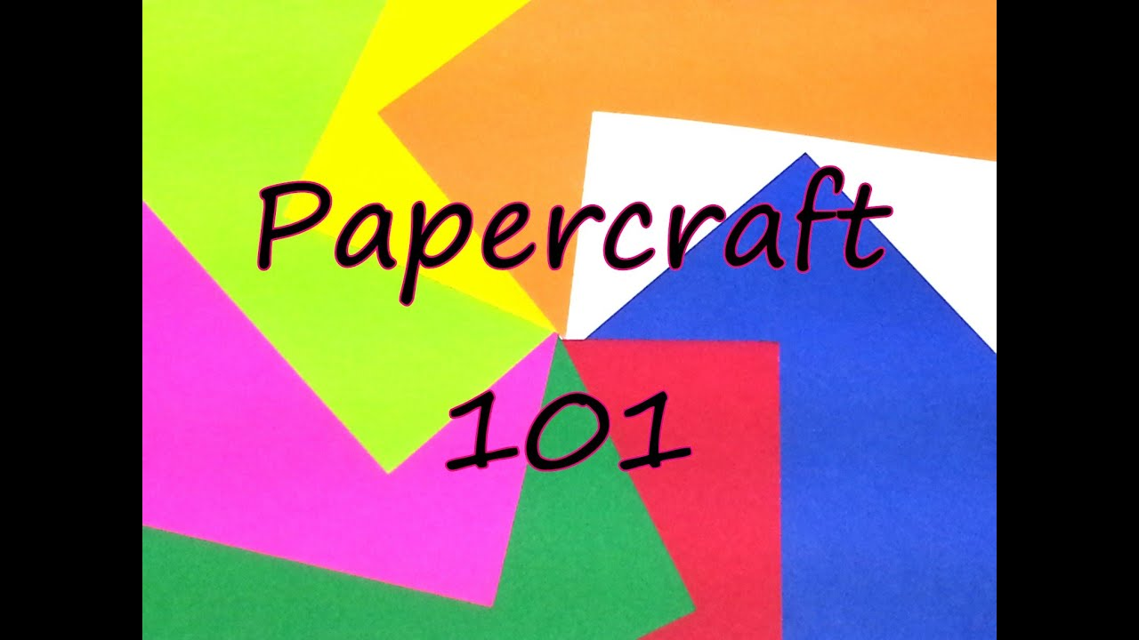 Papercraft Papercraft 101 by feelinspiffy (Papercraft)