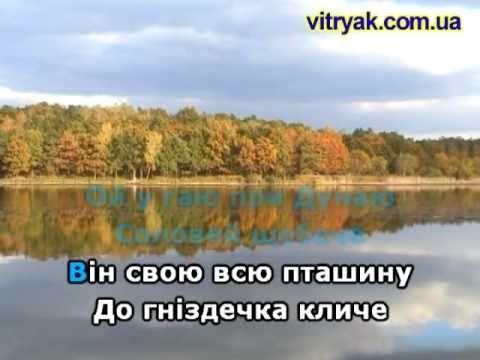 Ой У ГАЮ ПРИ ДУНАЮ КАРАОКЕ гурт ЕКСПРЕС