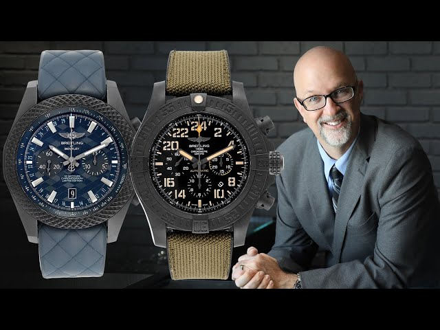 Breitling Bentley GT & Breitling Avenger Hurricane Review - Limited Ed Breitling | [Watch Review]