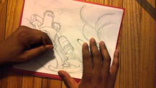 Speed Drawing - Vs  Fireman