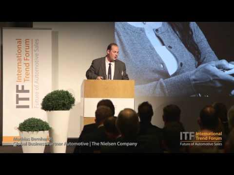 Mathias Bernhardt, Global Business Partner, Automotive, The Nielsen Company bei ITF 2015