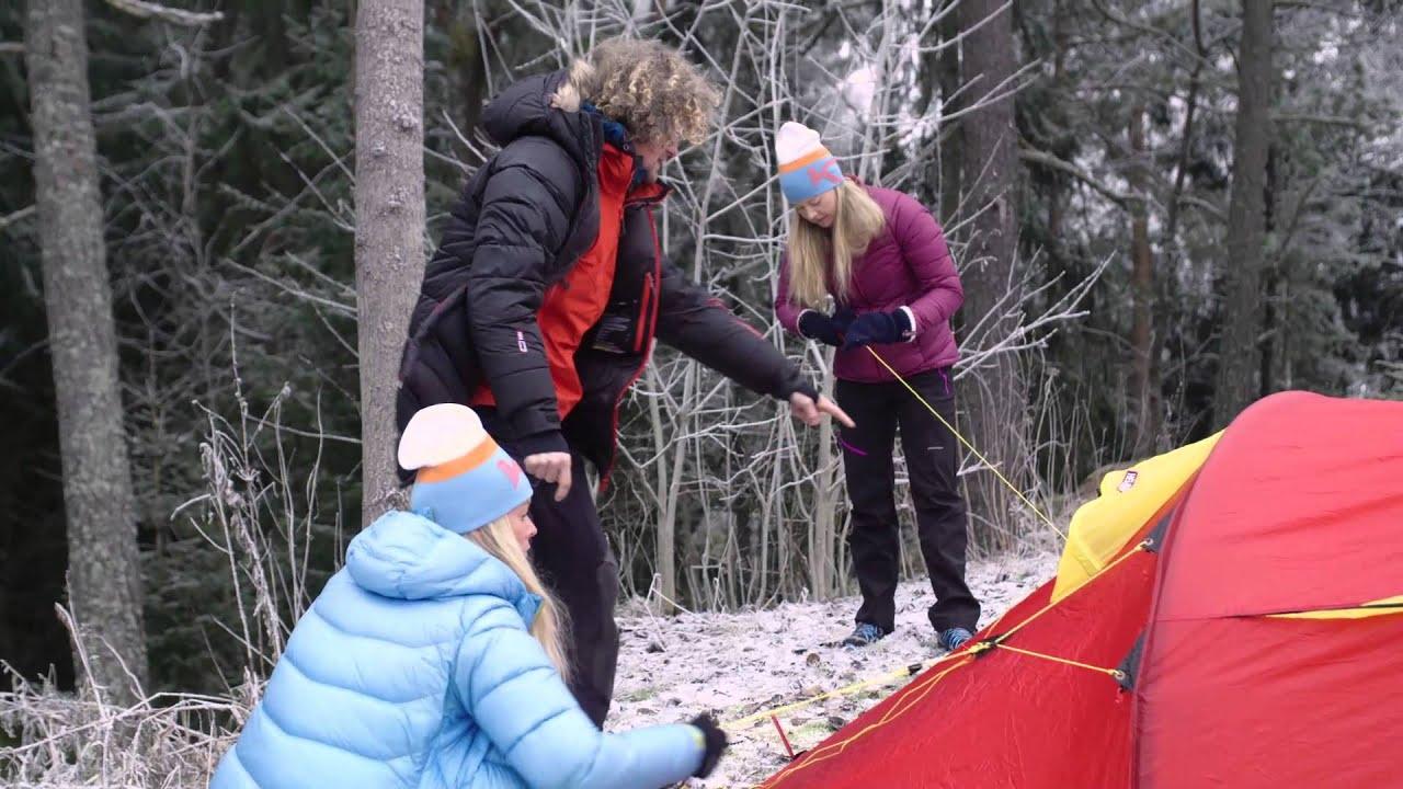 hvordan sette opp telt