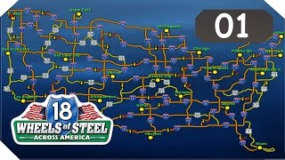 18 Wheels of Steel - Across America [Funny Moments] #01 - Eine Tour des Grauens
