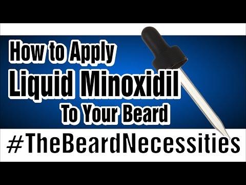 Minoxidil Beard FAQ - Beard Wiki