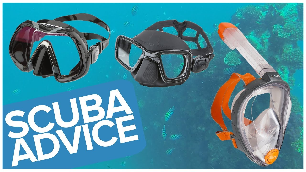 How To Choose A Scuba Diving Mask Or Snorkelling Mask ...