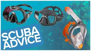 How to Choose a Scuba Diving Mask or Snorkelling Mask - www.simplyscuba.com