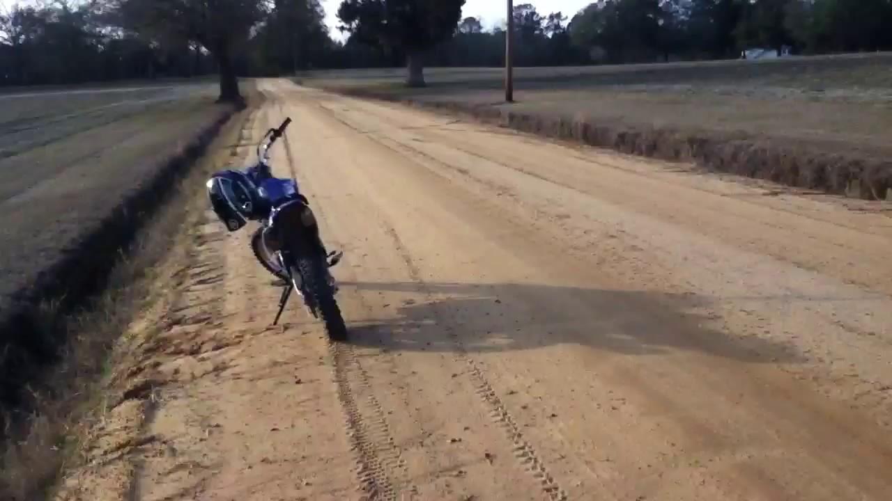 TTR 230 Top Speed!!! - YouTube