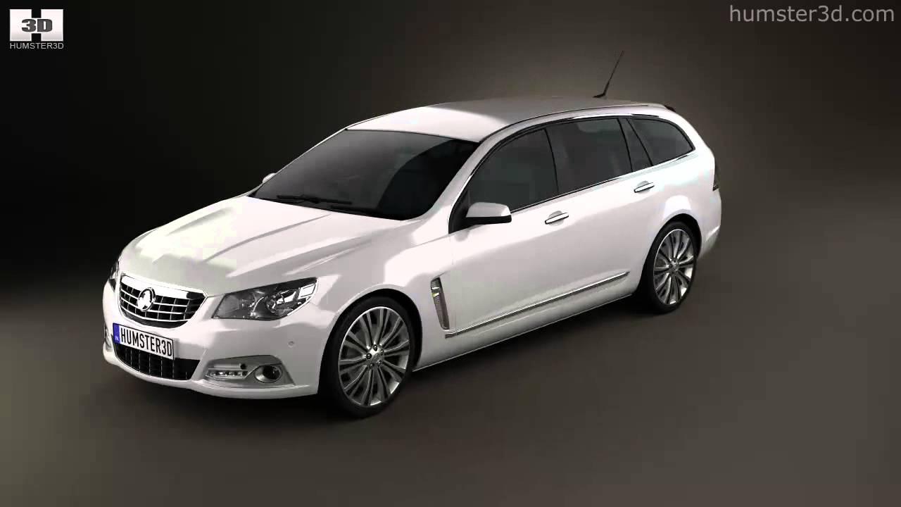 Holden VF Commodore Calais V sportwagon 2013 by 3D model store