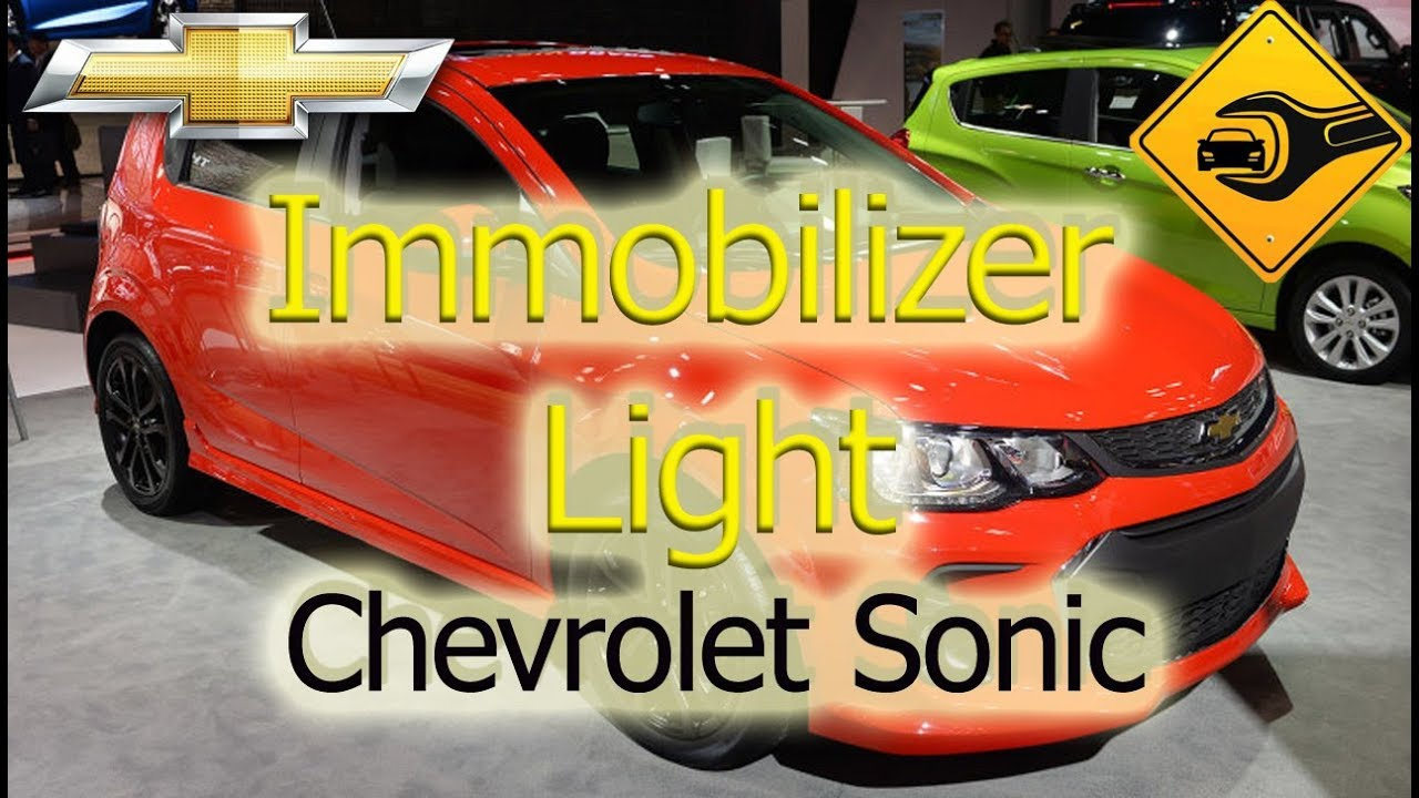 Chevrolet Sonic Owners Manual: Immobilizer Light