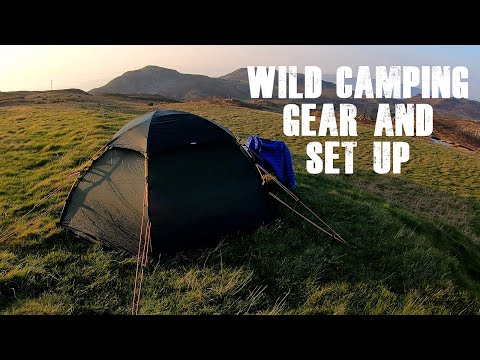 Gear And Set Up For Wild Camping In The UK