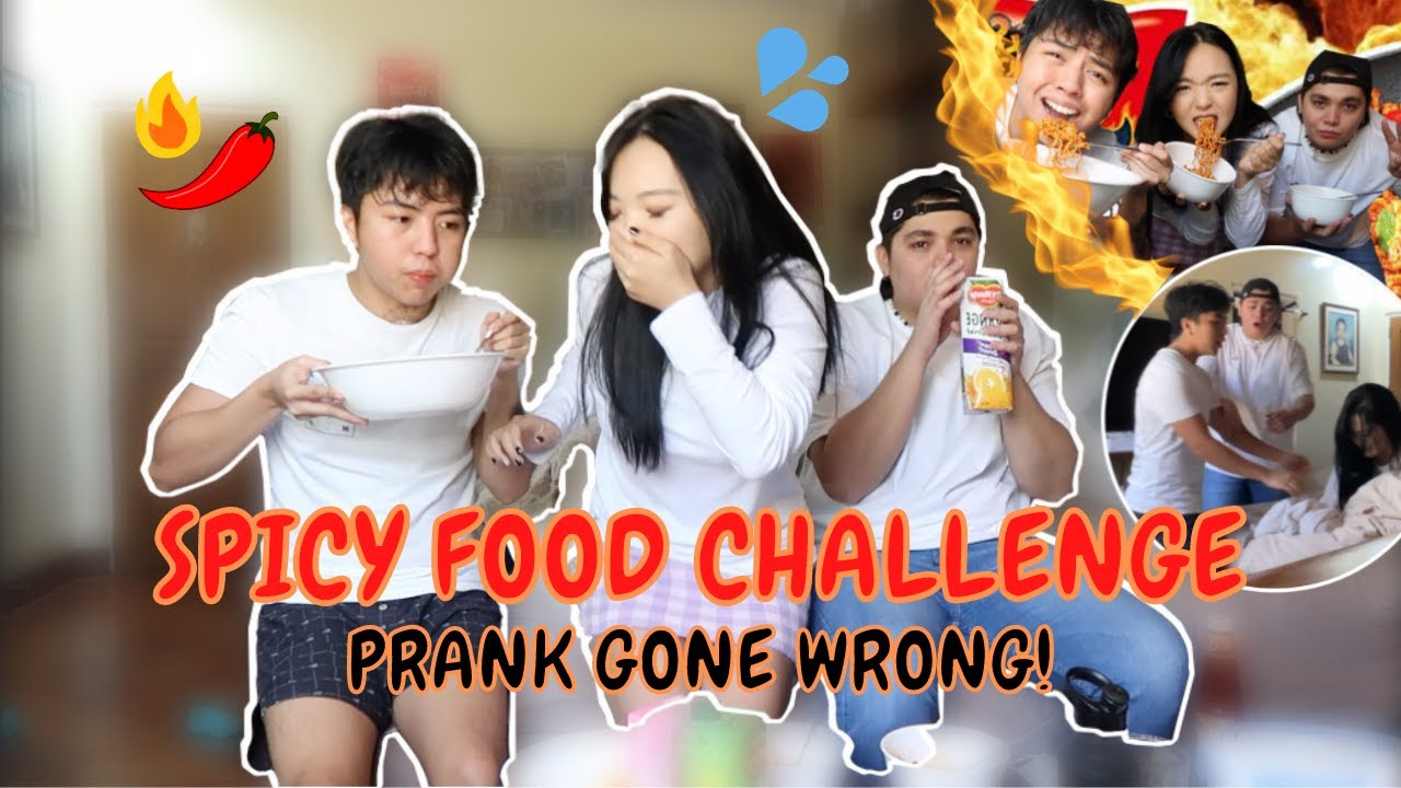 3X Fire Noodle Challenge *she passed out @Kristypata