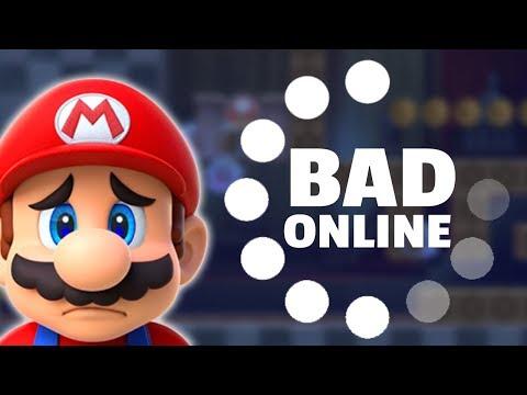 Super Mario Maker 2 Has BAD Online Play