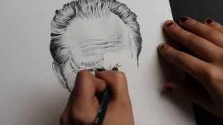 Drawing Benoit Poelvoorde