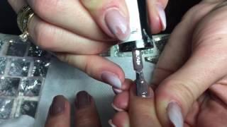 Как сделать эффект омбре на ногтях. Шеллак