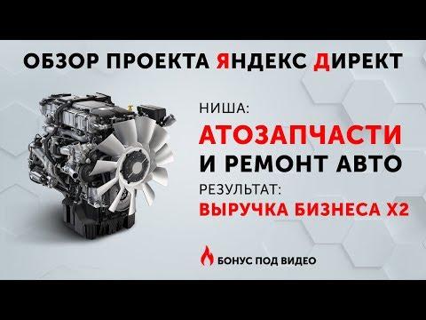 РЕМОНТ АВТО [КЕЙС] Настройка Яндекс Директ