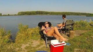 Беріть дівчат на риболовлю! Take your girl fishing!