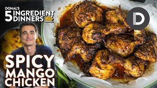 Spicy Mango Chicken Recipe | 5 INGREDIENT DINNER