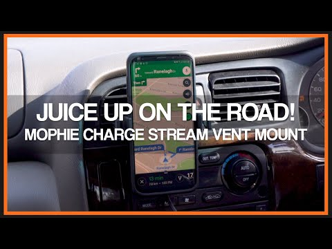 Mophie Charge Stream Vent Mount - Review