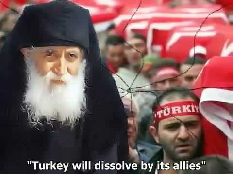 Turkey will disappear from the face of the earth as a state-Prophecy Elder Paisios from Greece