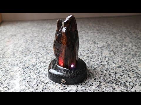 DIY Color Change Led, Wood, Epoxy Resin, Carbon Desk Lamp Part 1