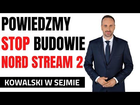 Solidarna Polska apeluje o głosowanie nad uchwałą ws. zaprzestania budowy Nord Stream 2
