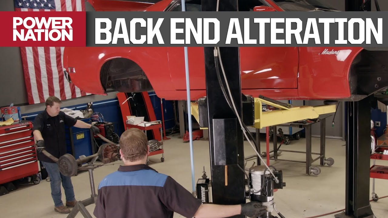 Converting The '70 RestoMod Mustang Suspension From Leaf Spring To Coilover - Detroit Muscle S8, E12