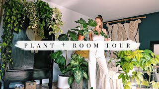 Plant Collection + Room Tour