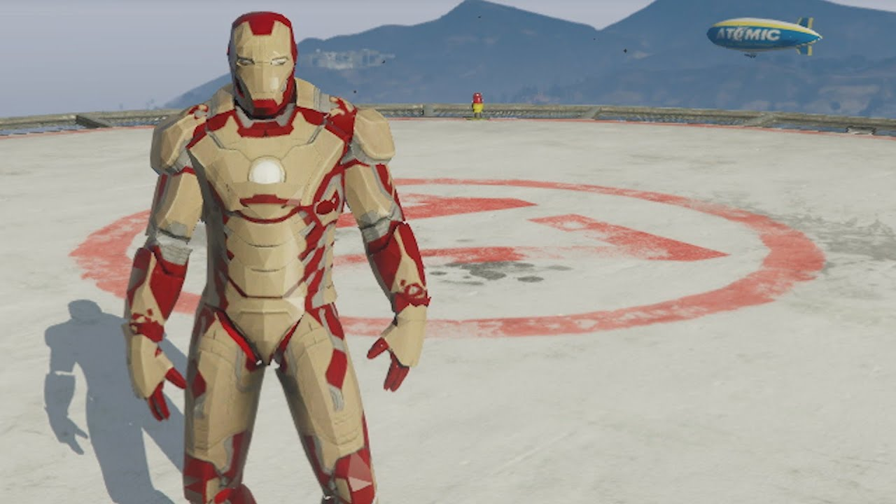 Grand Theft Auto 5 Iron Man Mod