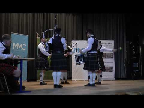 Dresden Pipes and Drums MAP Quintett Bremen 2017