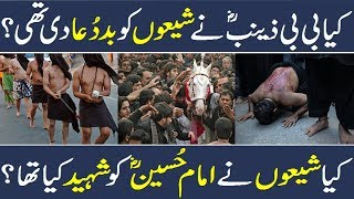 Shia History | Azadari History | Bibi Zainab history | Imam Hussain history | Karbala History | Urdu