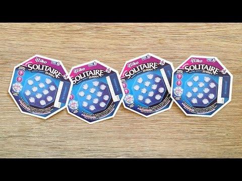 ❖ SOLITAIRE assure la gagne... 😍😍😍 Grattage de jeux Tickets à gratter Illiko FDJ - SCRATCHCARDS 💰💰