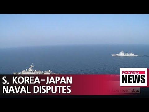 Senior S. Korean navy official cancels Japan visit amid naval disputes