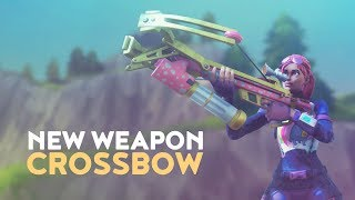 NEW WEAPON: CROSSBOW (Fortnite Battle Royale) thumbnail