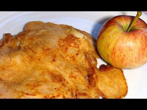 apfelpfannkuchen pancake rezept mit apfel einfach kochen rezept variation youtube. Black Bedroom Furniture Sets. Home Design Ideas
