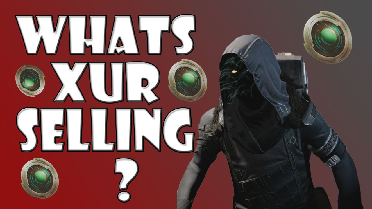 Destiny whats xur selling quot come on xur quot feb 13 feb 15 youtube