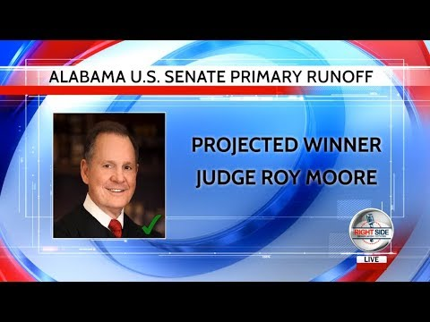 LIVE COVERAGE: Alabama Senate Runoff ELECTION RESULTS; Roy Moore Victory Speech