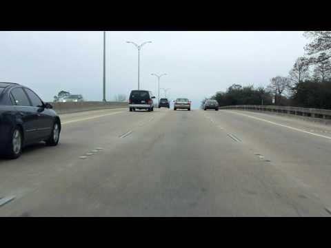 Interstate 610 - Louisiana westbound