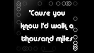 A Thousand Miles- Vanessa Carlton (lyrics)