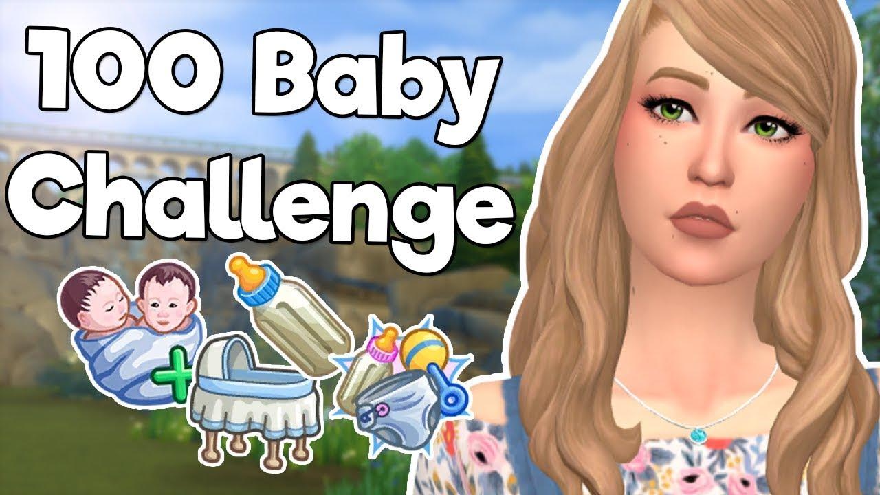 Download TWIN VAMPIRE BABIES | Sims 4: 100 Baby Challenge #63